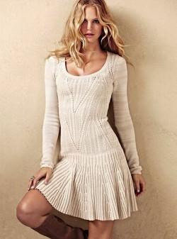 Вяжем платье Victoria's Secret.
