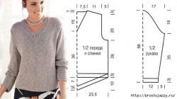 Пуловер с ажурной спинкой от ZARA.