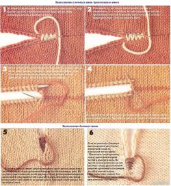 Выполняем красиво плечевой шов при вязании.