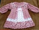 Детское платье крючком и жакетик.