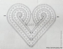 Вязаные сердечки к празднику влюбленных — схемы.