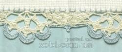 Обвязывание края крючком — схемы вязания.