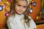 Белое ажурное болеро для девочки