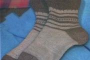 Мужские носки с пяткой «бумеранг». Как связать мужские носки спицами